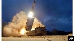 Severnokorejski raketni test