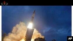 Şimali Koreyada naməlum ərazidən atılmış raket sınaqdan keçirilib.