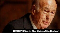 Valery Giscard d'Estaing, mokonzi ya kala ya France, 20 février 2008