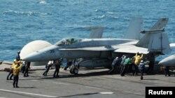 Kể từ đầu tháng 8, con số những cuộc không kích đã lên đến 162 phi vụ.