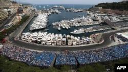 Le circuit du Grand Prix de Monaco, le 26 mai 2016.