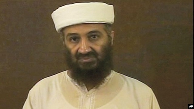 Photo taken from video released by US Pentagon May 7, 2011 shows Osama bin Laden.