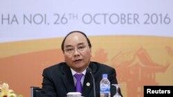 越南總理阮春福(資料圖片)