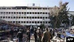 Poprište jednog od današnjih samoubilačkih bombaških napada u Damasku