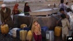 Афганские беженцы в Исламабаде, Пакистан