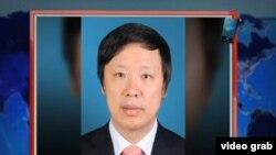 环球时报总编胡锡进 (VOA卫视视频截图)