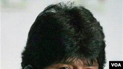 Presiden Bolivia Evo Morales (foto: dok) adalah salah satu tokoh anti-kapitalis yang menghadiri Forum Sosial Dunia tahun ini.