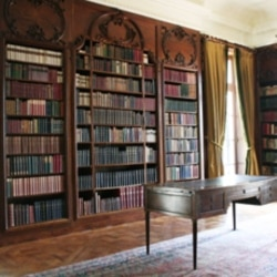 Edith Wharton's Library at The Mount. She designed the house in 1902.