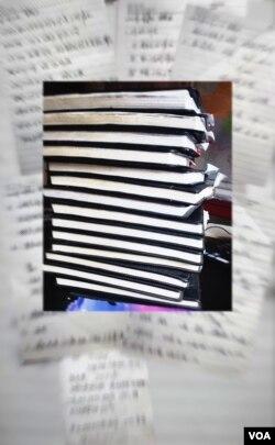 山东省德州市近百名官员行贿日记 纪录贪官行贿数额上千万元(合成图片)