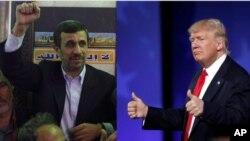 آقای احمدی نژاد به باراک اوباما، رئیس جمهوری پیشین امریکا، نیز نامه فرستاده بود