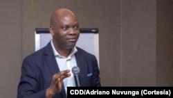 Adriano Nuvunga, investigador e diretor do Centro para Democracia e Desenvolvimento