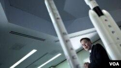Elon Musk, presidente de Space X en una foto de archivo tomada en Washington.