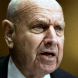 Undersecretary of State Thomas Pickering testifies on Capitol Hill in Washington (File Photo)