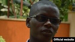 Jean Bigirimana, journaliste du groupe de presse Iwacu porté disparu à Bujumbura, Burundi, 22 août 2016. (Iwacu website)