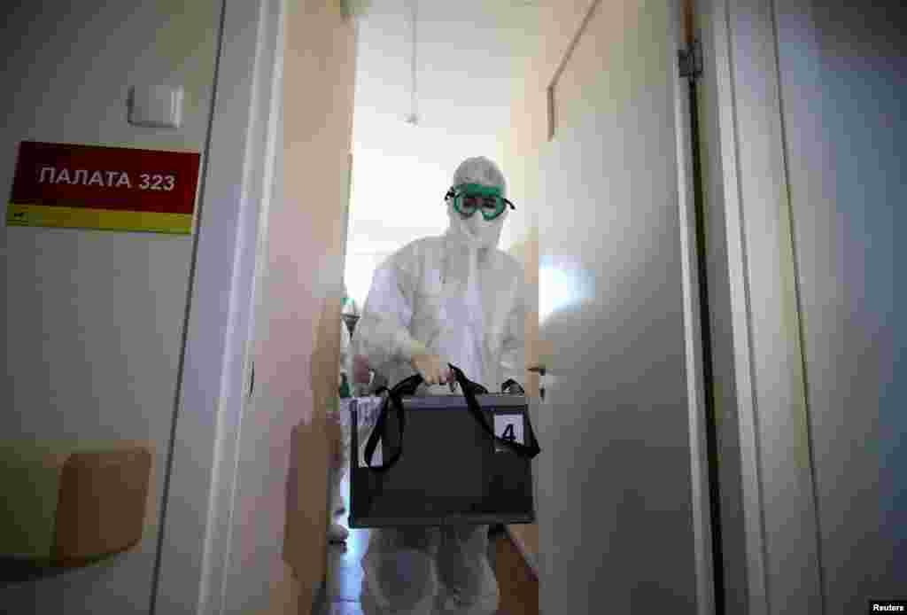 Sentyabrın 28-dəRusiyada 852 nəfər koronavirusdan dünyasını dəyişib