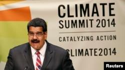 """""""La lógica de explotación del capital es simplemente insostenible"""", dijo Maduro en la cumbre."""