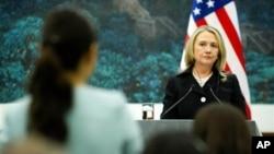 Госсекретарь США Хиллари Клинтон (архивное фото)