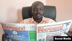 South Sudan opposition politician Peter Mayen Majongdit has not been seen since he was taken from his home in Juba on Wednesday, April 1, 2015, members of his party say.