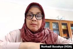 Dosen Fakultas Psikologi UIN Sunan Kalijaga, Yogyakarta, Zahrotun Nihayah. (Foto: VOA/Nurhadi Sucahyo)