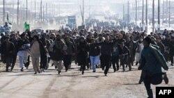 Протесты в Кабуле 23 февраля 2012г.