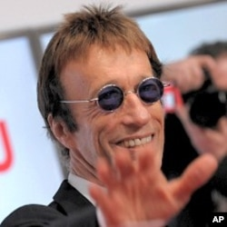 Robin Gibb of the Bee Gees