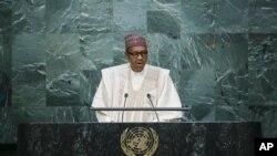 Shugaba Buhari Na Jawabi Majalisar Dinkin Duniya