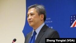 Ông Kin Moy, Quan chức Cấp cao phụ trách các vấn đề Đông Á và Thái Bình Dương thuộc Bộ Ngoại giao Mỹ.