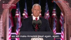 Vice President Mike Pence RNC Speech: August 26, 2020
