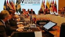 Grupo de Lima convoca conferencia internacional por la democracia en Venezuela