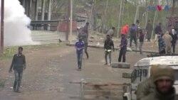 بھارتی کشمیر میں پولیس اور مظاہرین میں جھڑپیں تین افراد ہلاک