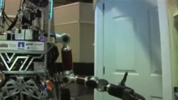 مسابقه ربات ها در پومونای کالیفرنیا