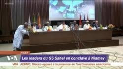 Sommet extraordinaire du G5 Sahel à Niamey