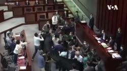 親中建制派李慧琼混亂中成為香港立法會內委會主席