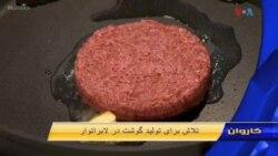 تلاش برای تولید گوشت در لابراتوار