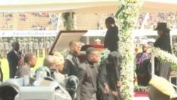 Zimbabwe First Lady, President and Other African Leaders at Mugabe State Burial