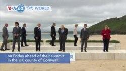 VOA60 World - G-7 Summit begins in England