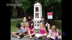 走进美国:小小免费图书馆