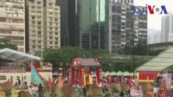 ہانگ کانگ میں ' بھوکے بھوت' کا تہوار