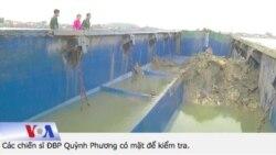 Bắt tàu xả 'chất thải nguy hiểm' xuống biển Nghệ An