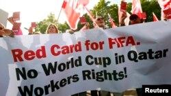 카타르, 외국인 노동자 착취 심각