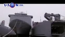 Tàu Hoa Kỳ tham gia phá huỷ vũ khí hoá học Syria