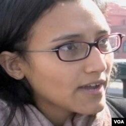 Nermine Essam, anti-vladina prosvjednica u Kairu
