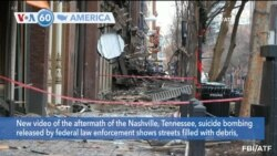 VOA60 America - Suspect Behind Nashville Bombing Not on Police Radar