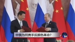 时事大家谈:中俄为何携手反颜色革命?