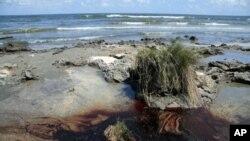 Μόλυνση στις ακτές της Λουιζιάνας.