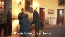 106-year-old Woman Meets, Dances With Obamas