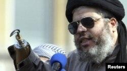 Abu Hamza se hizo famoso en el Reino Unido por predicar en contra Occidente desde la mezquita de Finsbury Park, en Londres.