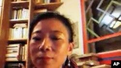 唯色接受美国之音藏语组采访