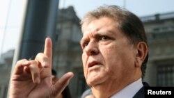 El expresidente peruano Alan García intentó suicidarse en Lima.