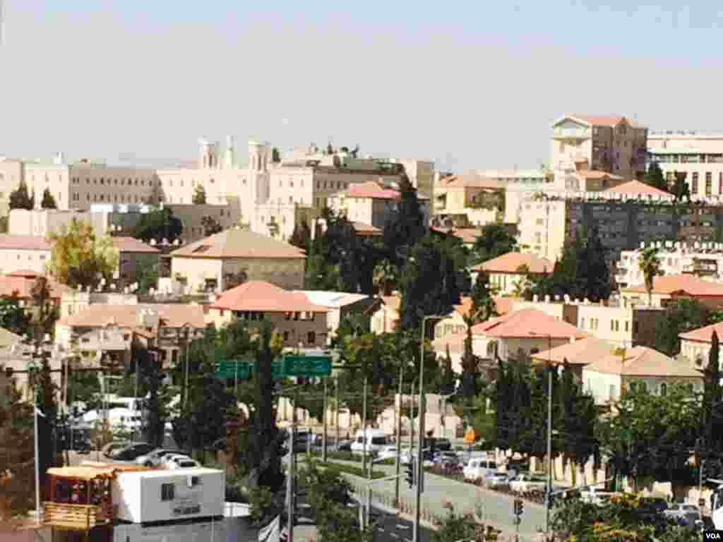 چشم انداز شهر اورشلیم اسرائیل